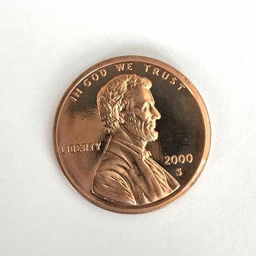 2000 S Proof Lincoln Cent (1107-7)