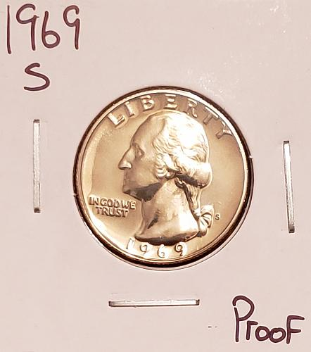 1969 S Washington Quarter