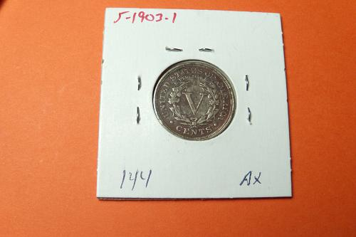 1903 Liberty Nickel F12  #5-1903-1