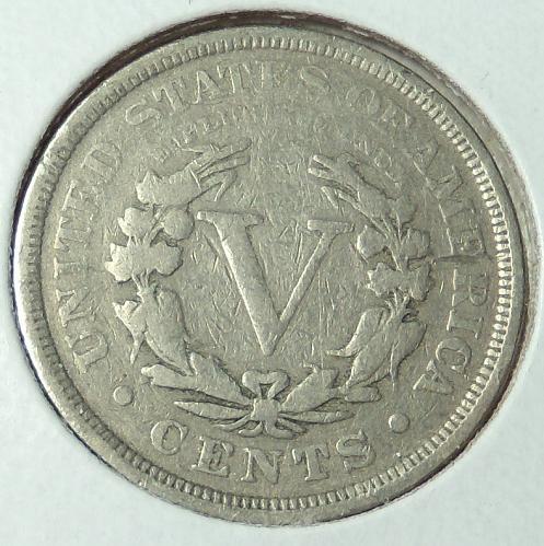1905 Liberty Nickel  VG10  #5-1905-1