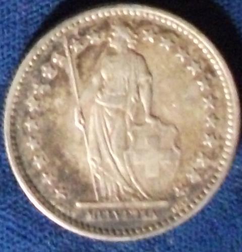 1912 Switzerland 2 Francs VF