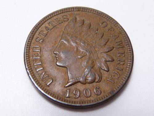 1906 INDIAN HEAD CENT IN EXTRA FINE CONDITION  K-8-20