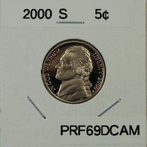 2000 S Jefferson Nickel ***Proof***