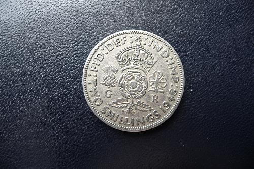Great Britain 1948  two shillings