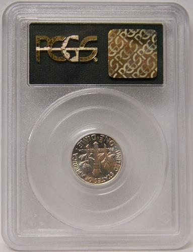 1962 Roosevelt Dime MS64 PCGS SAMPLE OGH Rare Small c