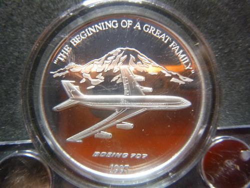 BOEING 707 1997 1.5 OZ PEWTER