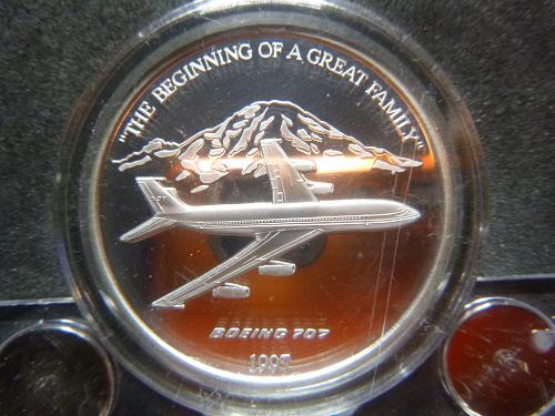 BOEING 707 1997 1.5 OZ PEWTER