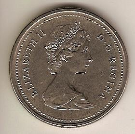 1972 Canadian Commemorative Dollar