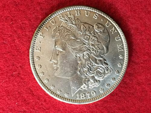 1879 Morgan Silver Dollar MSD S1$ Mint State Uncirculated FREE SHIPPING!