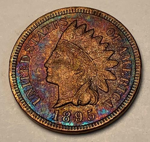 1895 Indian Head Cent XF45 [IC 27]