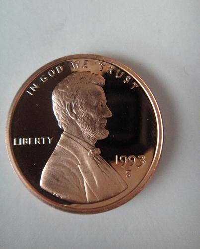 1993-S Lincoln Cent Proof-65 (GEM) RED