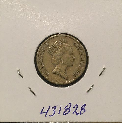 Australia $2.00  1988 AL/BR