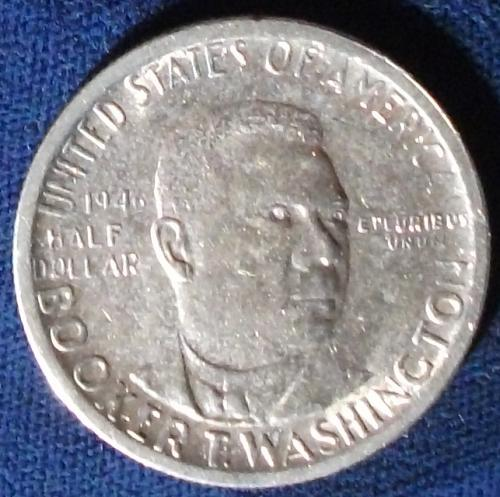 1946S Booker T. Washington Half AU