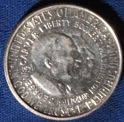 1951 Washington-Carver Half AU