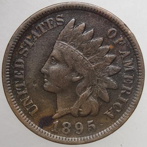 1895 P Indian Head Cent #20
