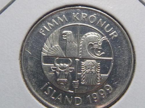 ICELAND 2008 5 KRONUR