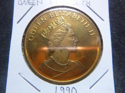 QUEEN ELIZABETH 1990 COPPER PROTOTYPE