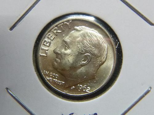 1962 D Roosevelt Dimes