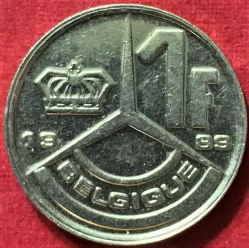 Belgium - 1989 - 1 Franc (Belgique) [#1]