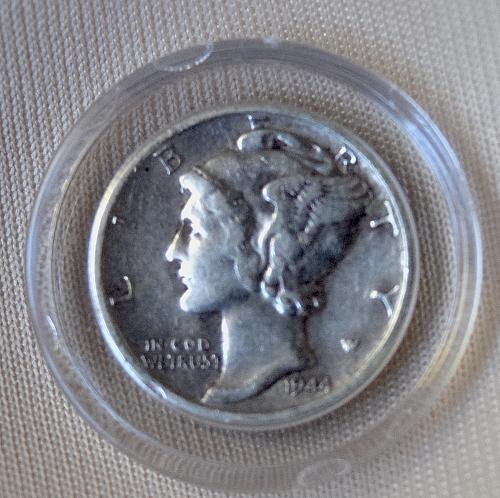 1944 SILVER PACK WALKING LIBERTY HALF MERCURY DIME TWO PACK GREAT FOR A GIFT