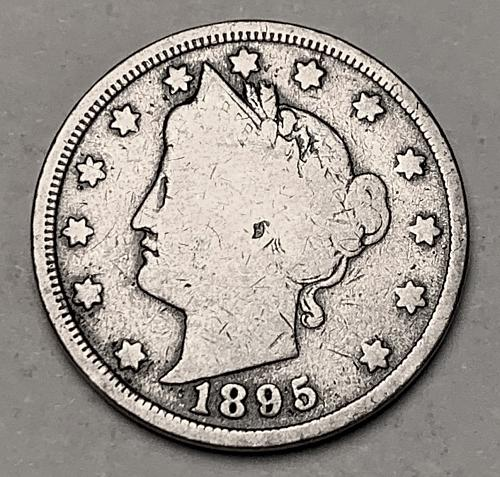 """1895 Liberty """"V"""" Nickel G [SVB 215]"""