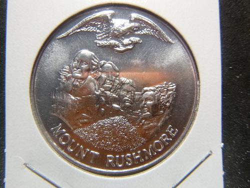 MOUNT RUSHMORE 1776-1976 BICENTENNIAL  MARDI GRAS