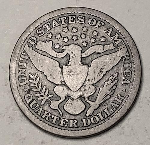 1899 Barber Quarter G [BSWQ 543]