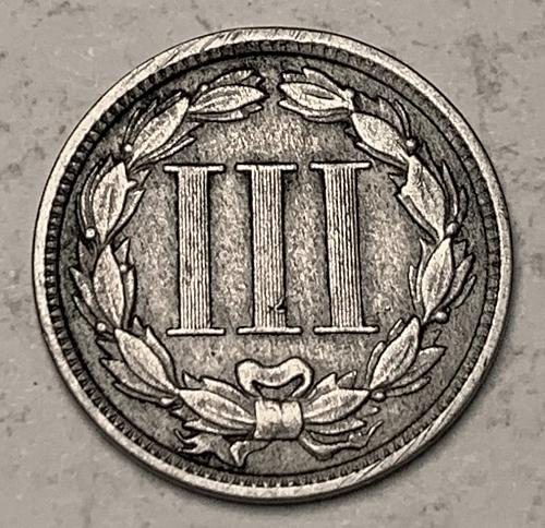 1881 Three Cent Nickel VF [3C 15]