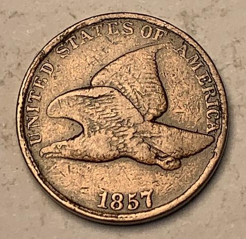 1857 Flying Eagle Cent [FE 15]