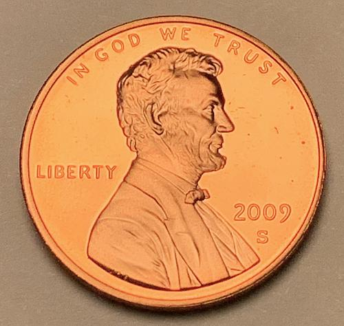 2009-S Proof Lincoln Memorial Cent: Presidency [LC 171]