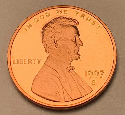 1997-S Proof Lincoln Memorial Cent [LC 175]