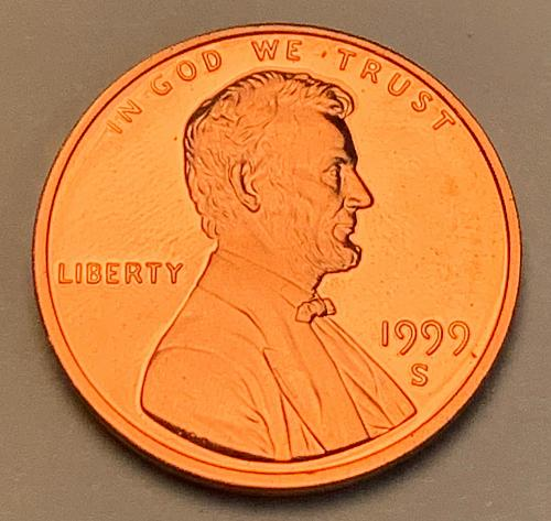 1999-S Proof Lincoln Memorial Cent [LC 177]