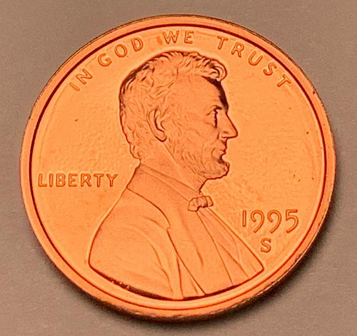 1995-S Proof Lincoln Memorial Cent [LC 180]