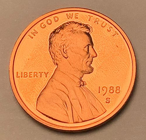 1988-S Proof Lincoln Memorial Cent [LC 183]