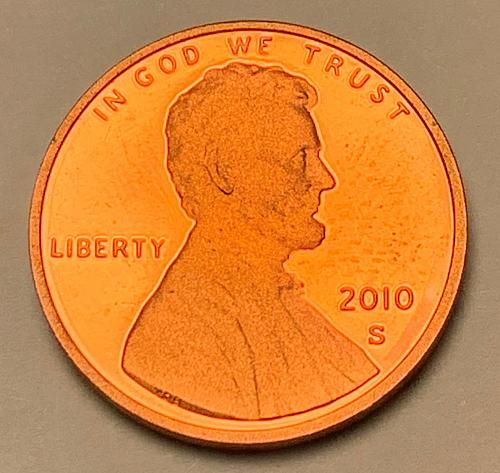 2010-S Proof Lincoln Shield Cent [LC 187]