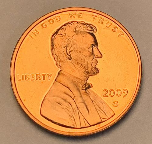 2009-S Proof Lincoln Memorial Cent: Formative Years [LC 188]