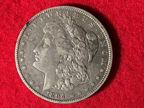 1894 O Morgan Silver Dollar MSD S1$ FREE Shipping!