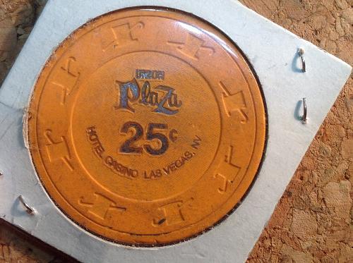 Union Plaza 25 Poker Chip