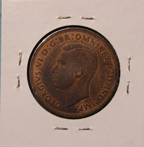 Great Britain 1946 1 penny