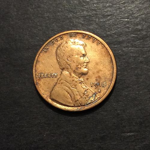 1915 S Lincoln Wheat Cent, key date! see pics and description (cn2)