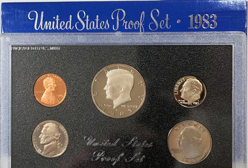 1983 S US Proof Set