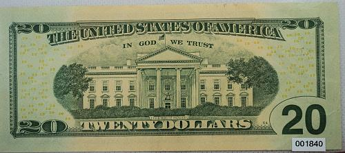 2017 Series $20 Federal Reserve Note ***Star Note***