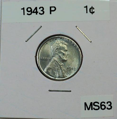 1943 P Lincoln Wheat Cent