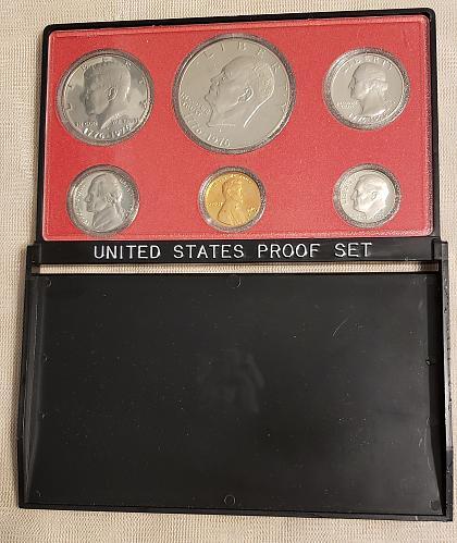 1976 S Proof Set (6 coin) Orig box and Orig Plastic Flip Case