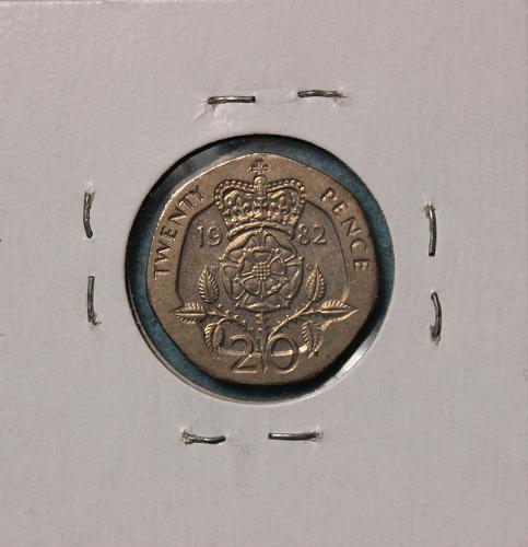 Great Britain 1982 20 pence