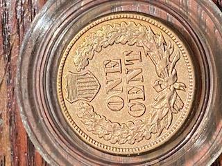 BU 1861 Indian Head Cent