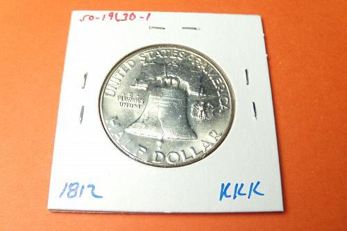 1963D Franklin Half Dollar  MS64  #50-1963D-1