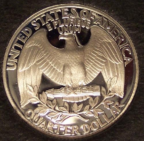1992-S DCAM Silver Proof Washington Quarter #0387