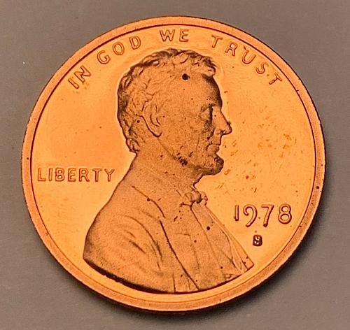 1978-S Proof Lincoln Memorial Cent [LC 202]