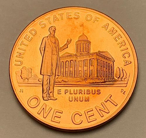 2009-S Proof Lincoln Memorial Cent: Presidency [LC 205]